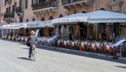 Eltűntek a turisták Róma belvárosából