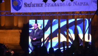 Székely szabadság napja: szimpátiarendezvényt tartottak Budapesten