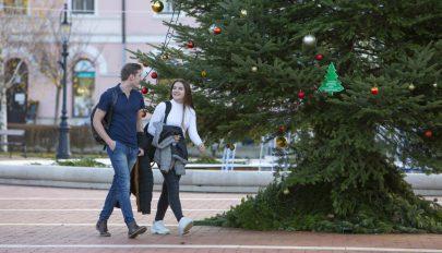 Több mint három Celsius-fokkal volt melegebb az idei tél Európában