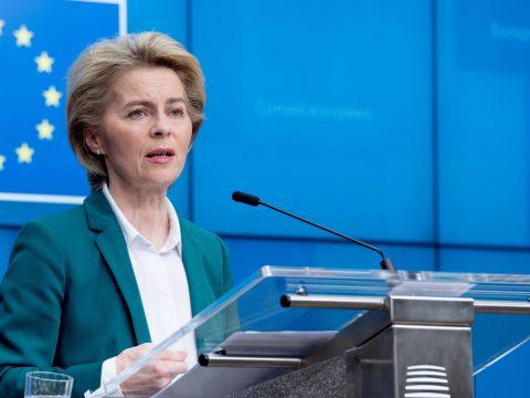 Von der Leyen: 7,4 milliárd euró gyűlt össze a koronavírus elleni küzdelemre