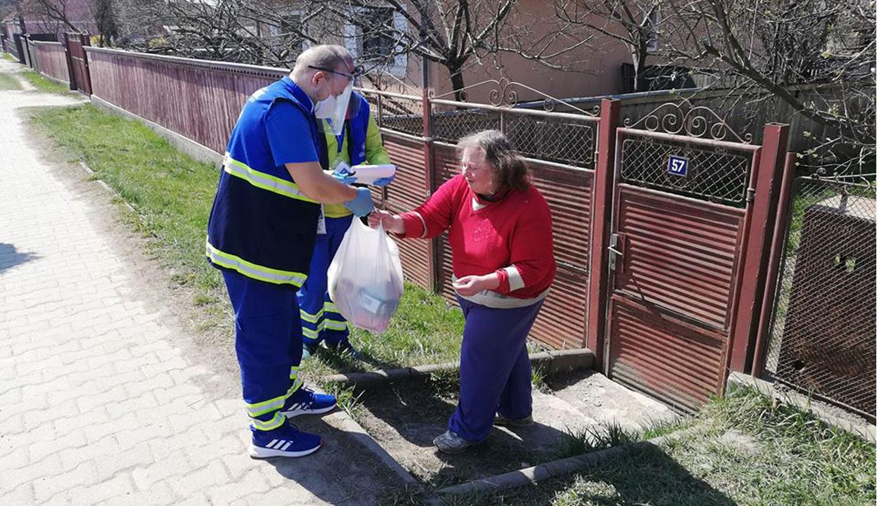 A rászorulókért dolgoznak