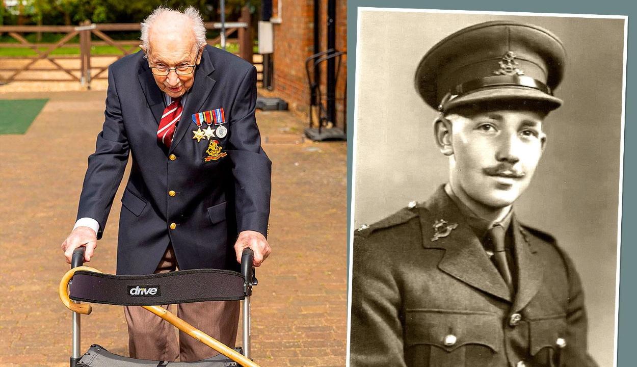 Több mint 4 millió font adományt gyűjtött egy 99 éves angol férfi a járvány elleni harcra