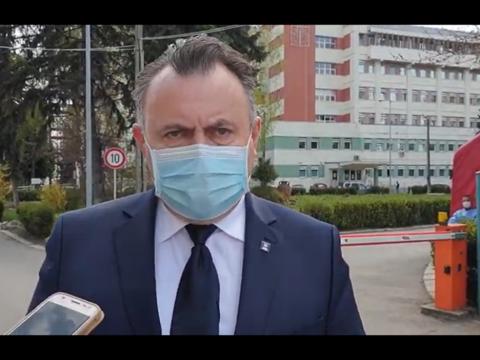 Miniszteri villámlátogatás a kórházban