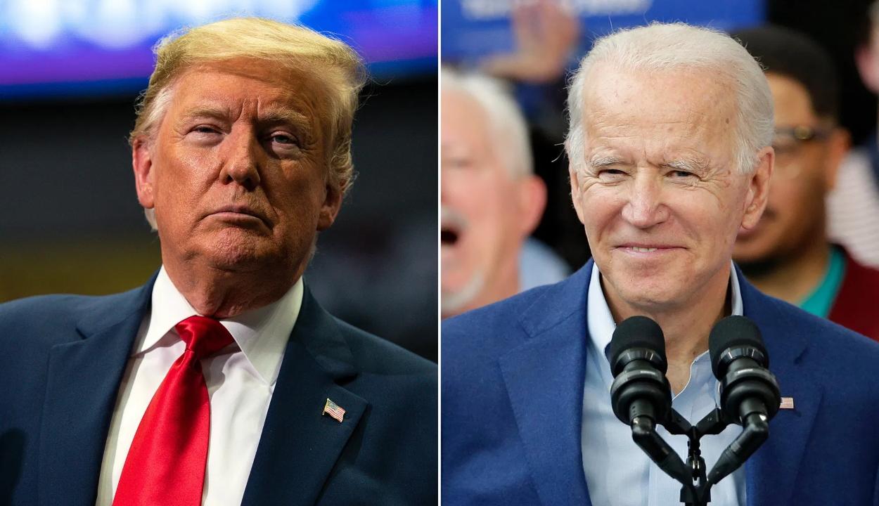 Amerikai elnökválasztás: Biden türelemre intett, Trump csalást sejtetett