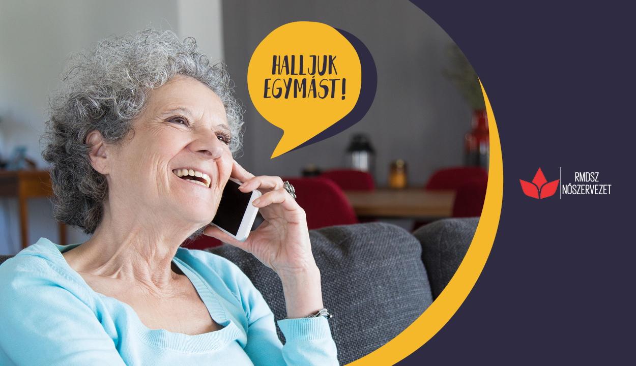 Halljuk egymást! – Egyedül élő időseknek segít az RMDSZ nőszervezete