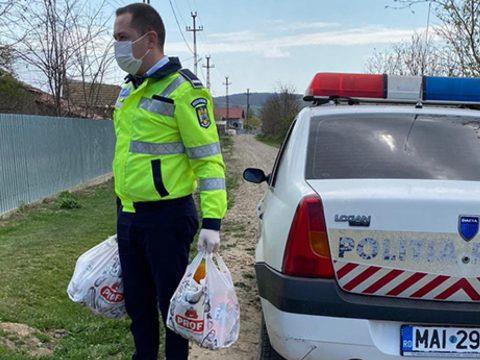 A 112-őn kért segítséget egy idős nő, mert nem volt mit ennie, a rendőrök segítettek rajta