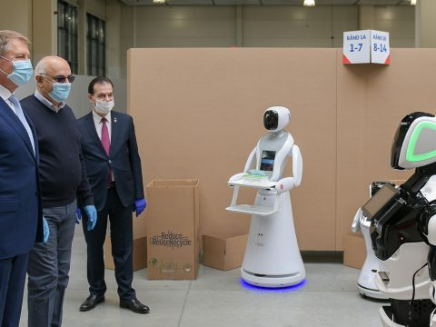 """""""Minden rendben lesz"""" – mondta egy robot Johannisnak"""
