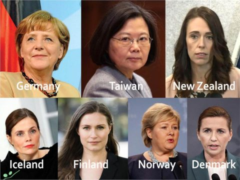 Hét ország, ami rendkívül sikeres a járvány elleni harcban, és nő vezeti