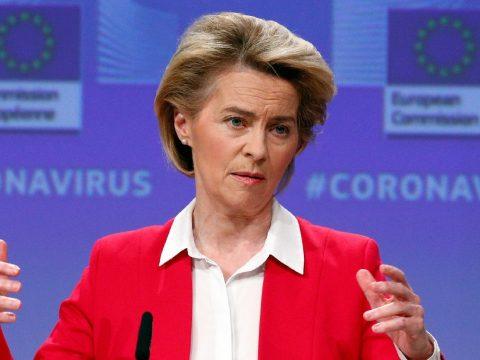 """Von der Leyen: új """"Marshall-terv"""" kell a járvány miatt az Európai Unió megerősítéséhez"""