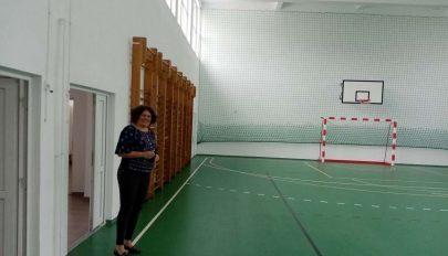 Felújított sportteremmel várják az új tanévet