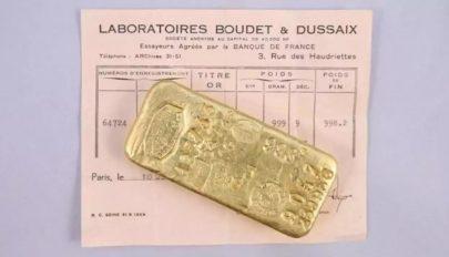 Két kiló aranyat találtak a karantén miatt unatkozó francia gyerekek