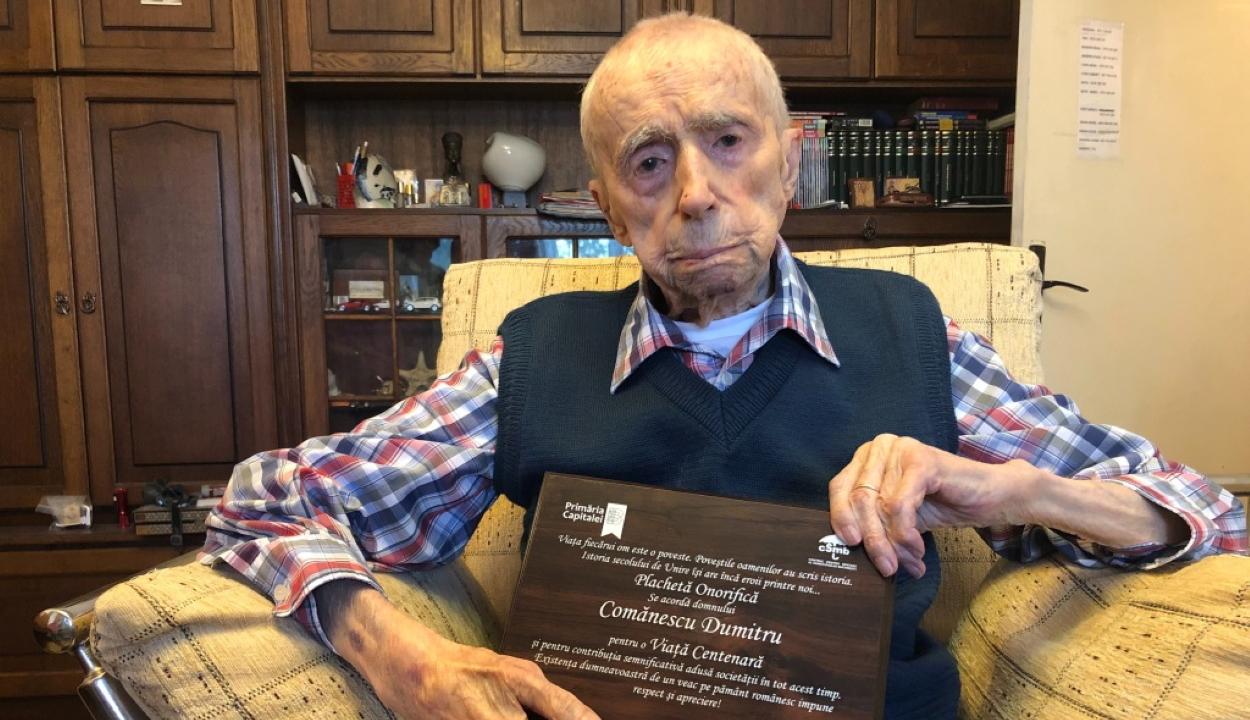 Egy román ember lett a világ legidősebb férfija