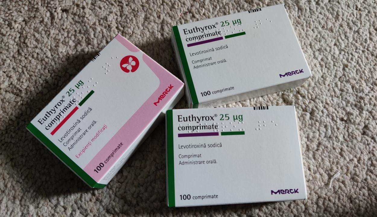 Ötezer doboz Eutirox gyógyszert osztanak szét nyolc városban