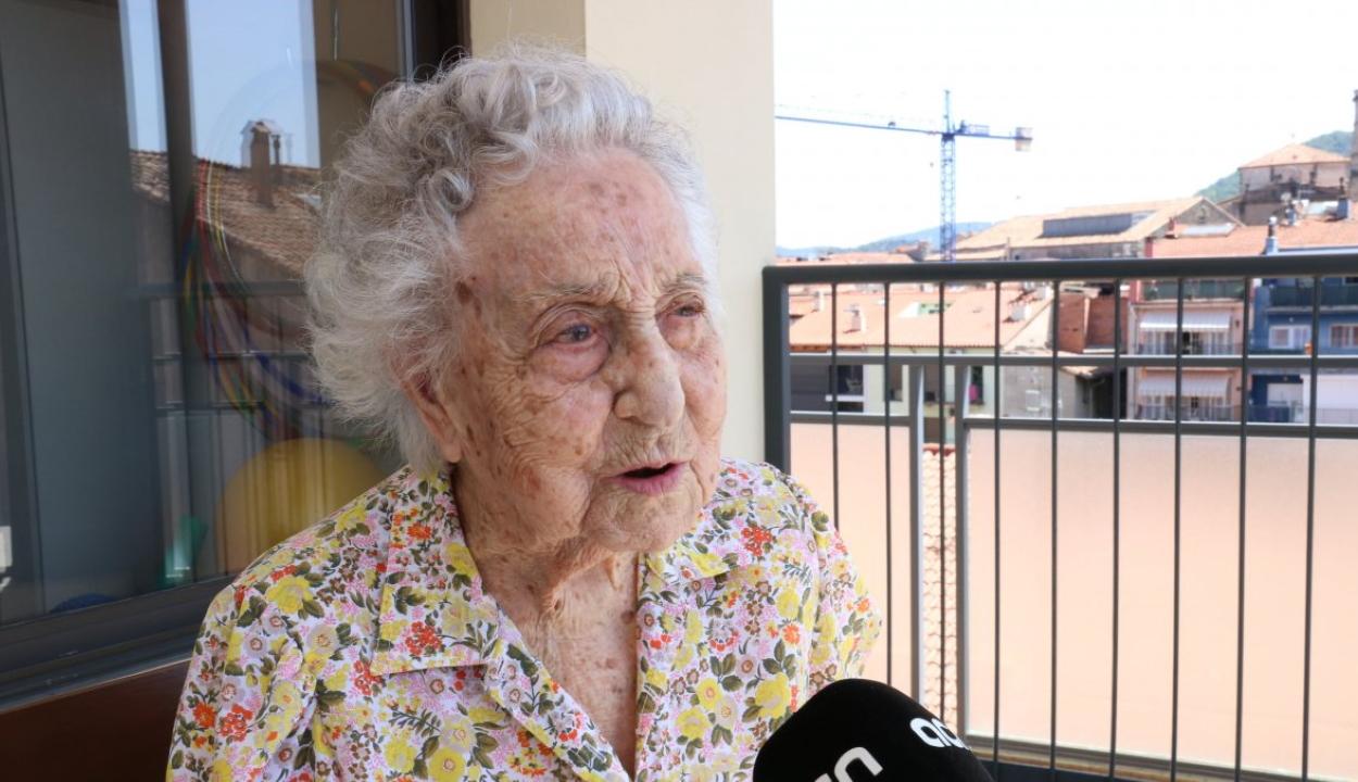 Túlélte a koronavírust Spanyolország legidősebb embere, egy 113 éves nő