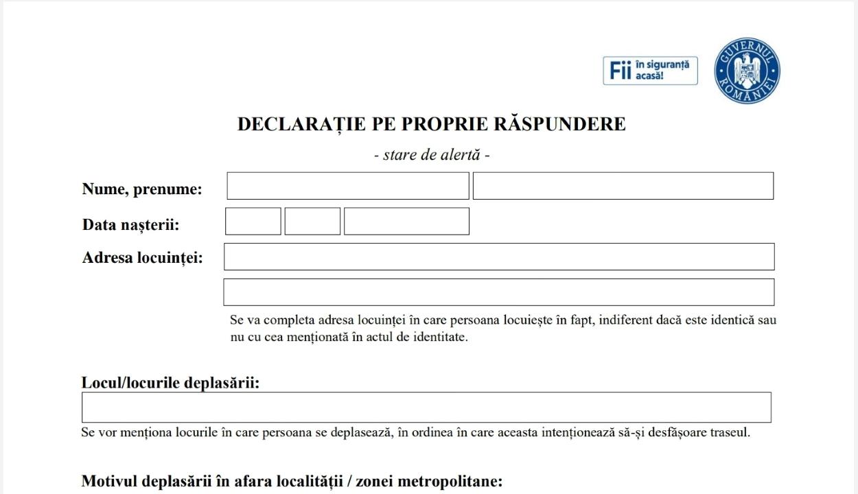 Csendőrség: kézzel is megírható a felelősségvállalási nyilatkozat