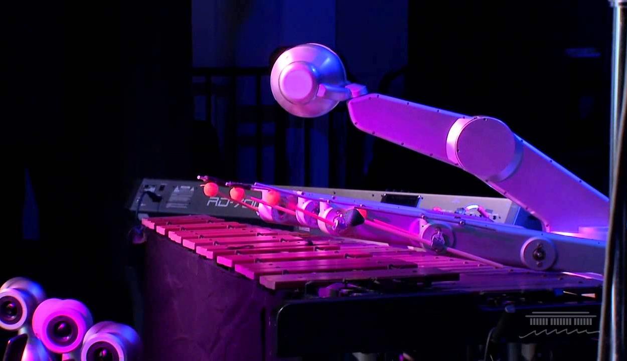 Shimon – az első robot, amely képest saját zenét szerezni