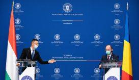 Szijjártó: Magyarország kölcsönös tiszteleten alapuló együttműködést akar építeni Romániával