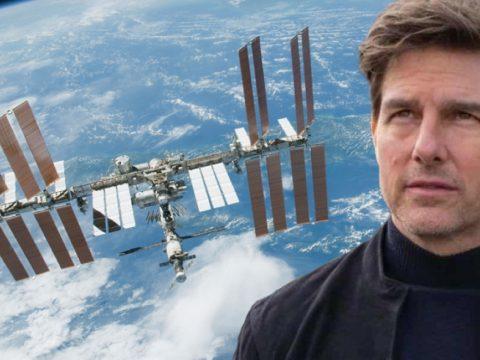 Tom Cruise az űrben forgatja új filmjét
