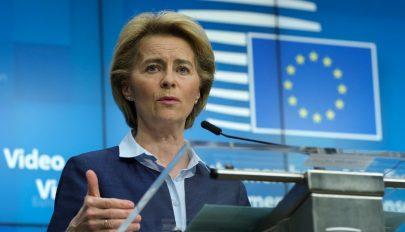 Von der Leyen: az EU-nak 750 milliárd euróra van szüksége a helyreállításához