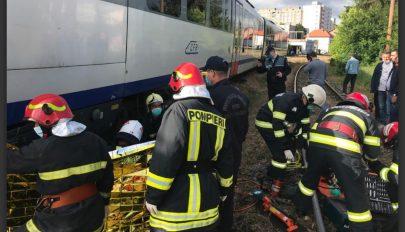 Halálra gázolt a vonat egy nőt Marosvásárhelyen