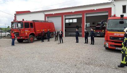 Átadták a tűzoltóállomást