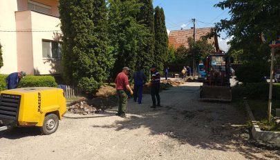 Megújul a Margaréta utcai parkoló