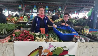 Biozöldség a piacon