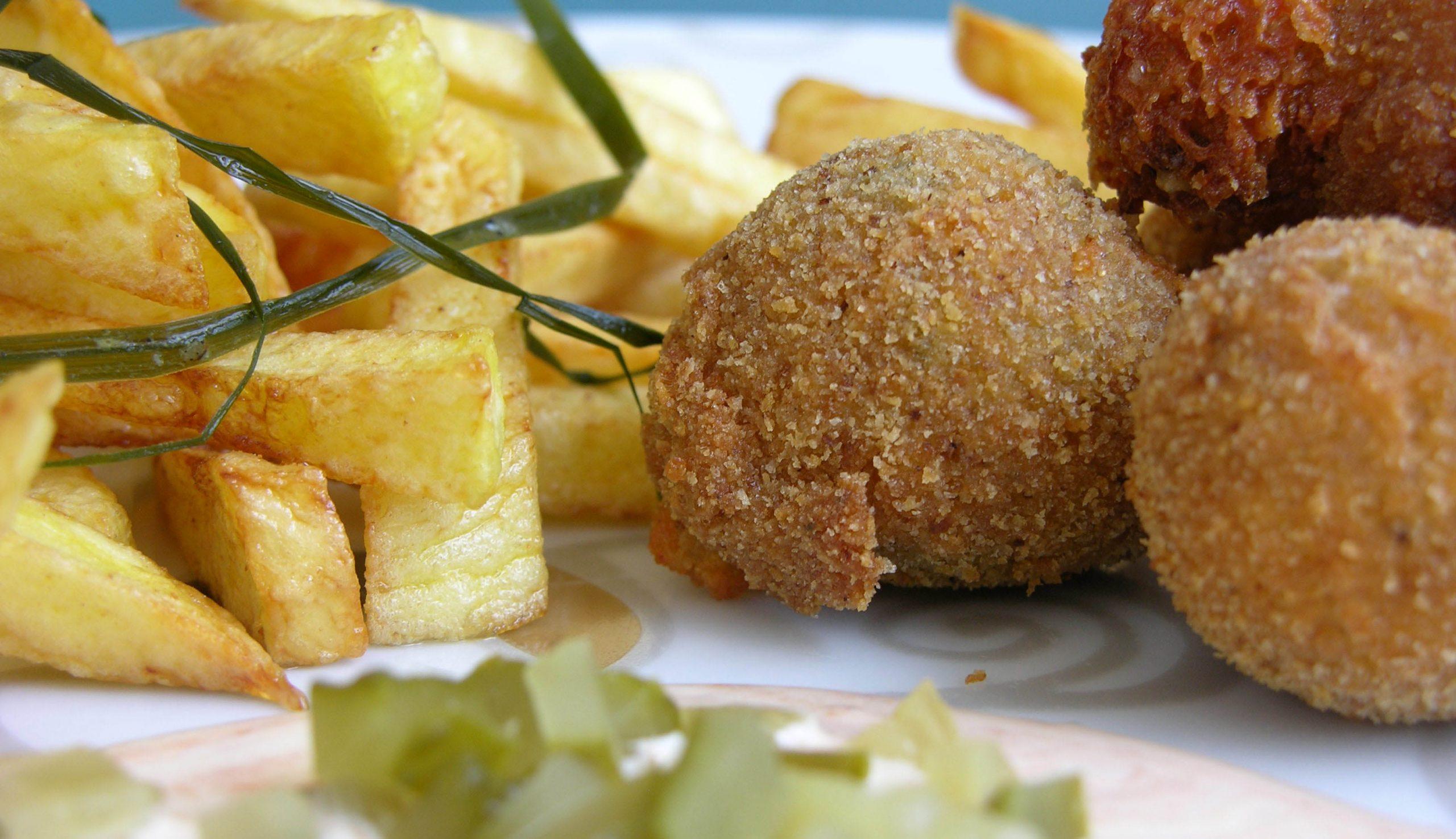 Ropogós sült krumpli