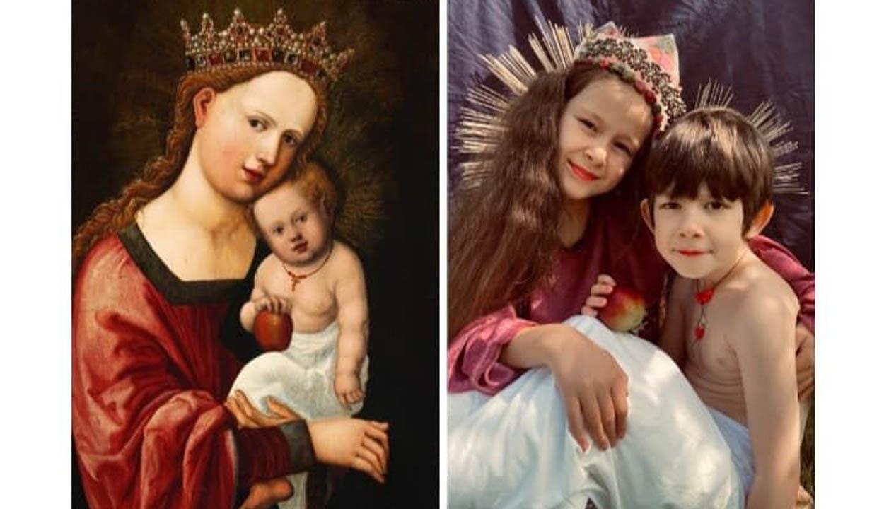 Híres festők megelevenedett képei