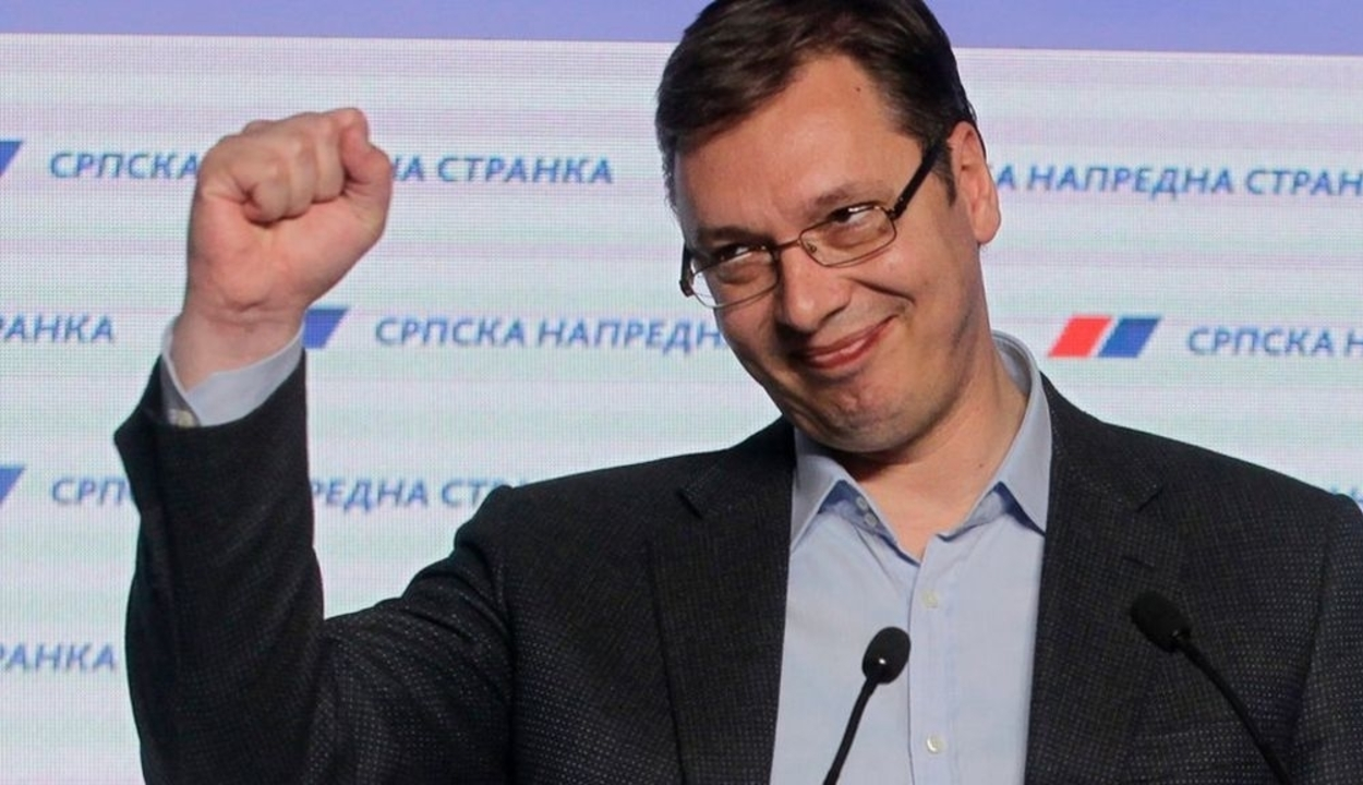 Szerbiában győzött Vucic elnök pártja