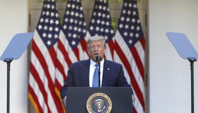 Kérdések merültek fel Trump egészségi állapotáról a közösségi médiában