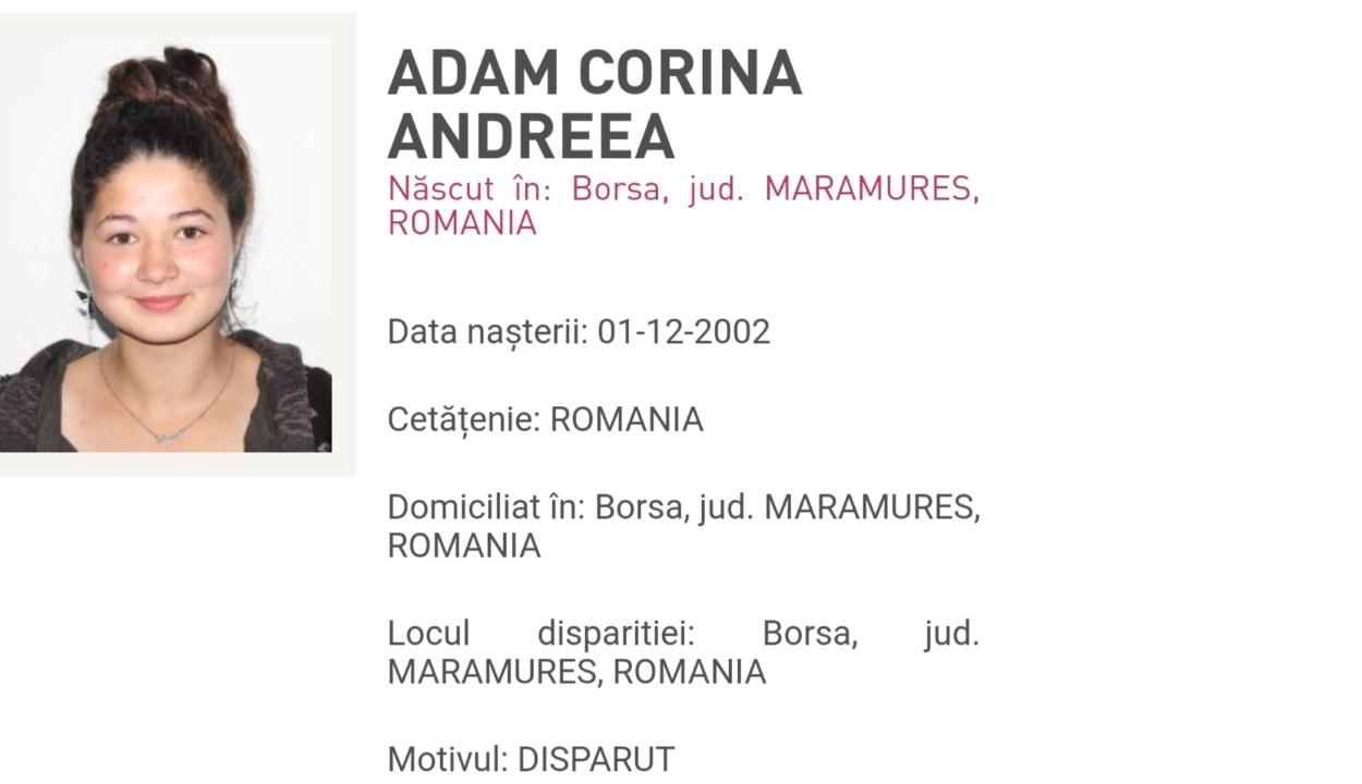 FRISSÍTVE: Arad megyében találták meg az eltűnt Máramaros megyei lányt