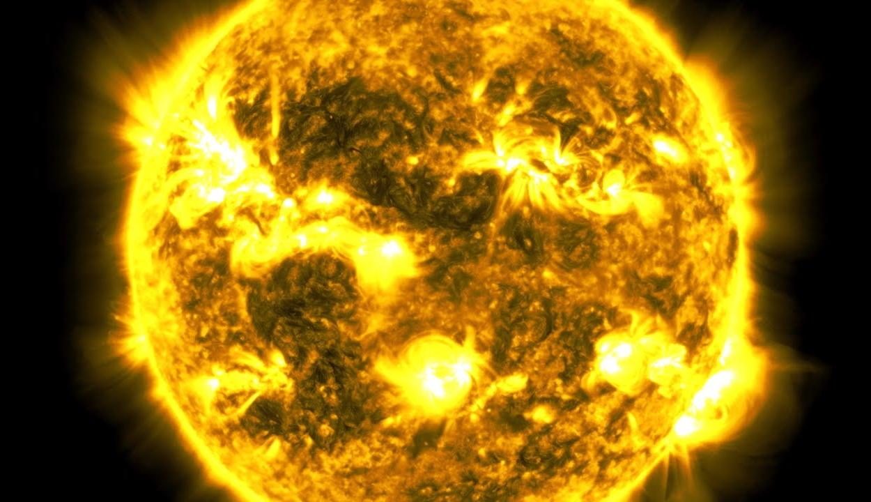 Videó mutatja meg, hogyan változott a Nap tíz év alatt