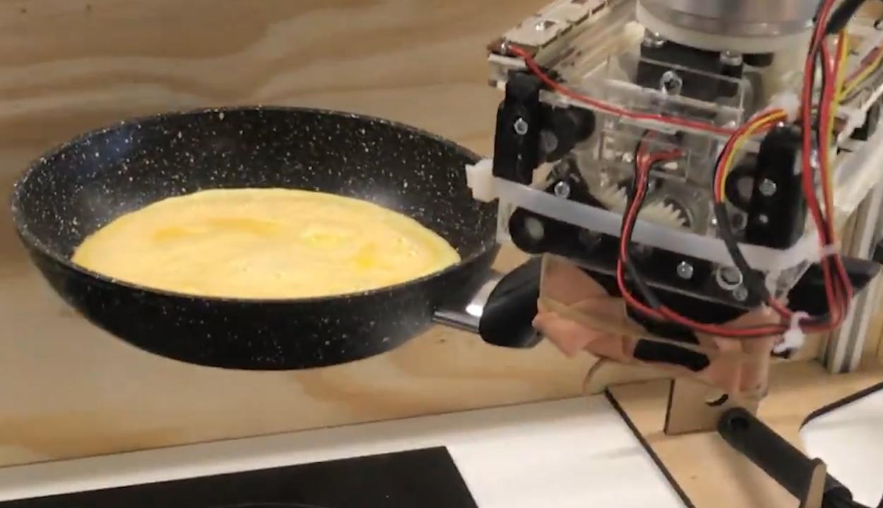 Robotséfet tanítottak meg omlettet készíteni kutatók