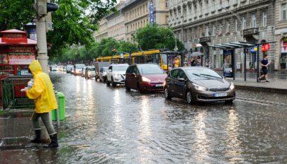 Halálos áldozata is volt a viharos időnek Magyarországon