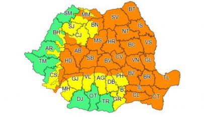 Meghosszabbították az ország középső és keleti részére érvényes másodfokú esőriasztást