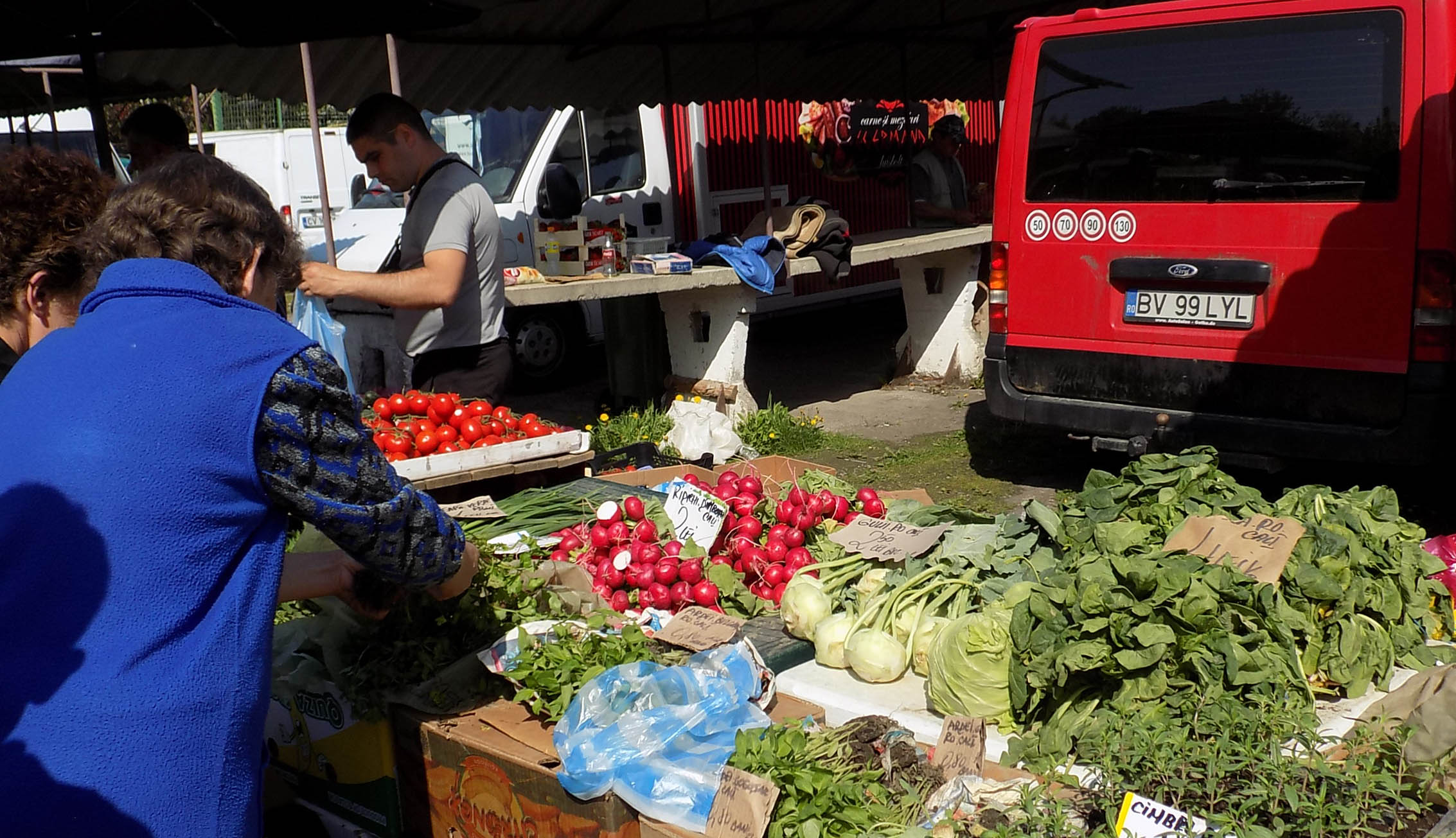 Zöldségpiacokat Erdővidéknek