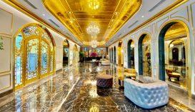 Arannyal borított szálloda nyílt Vietnámban