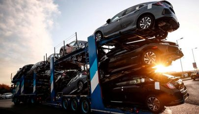 22 százalékkal csökkent a forgalomba helyezett új járművek száma tavaly