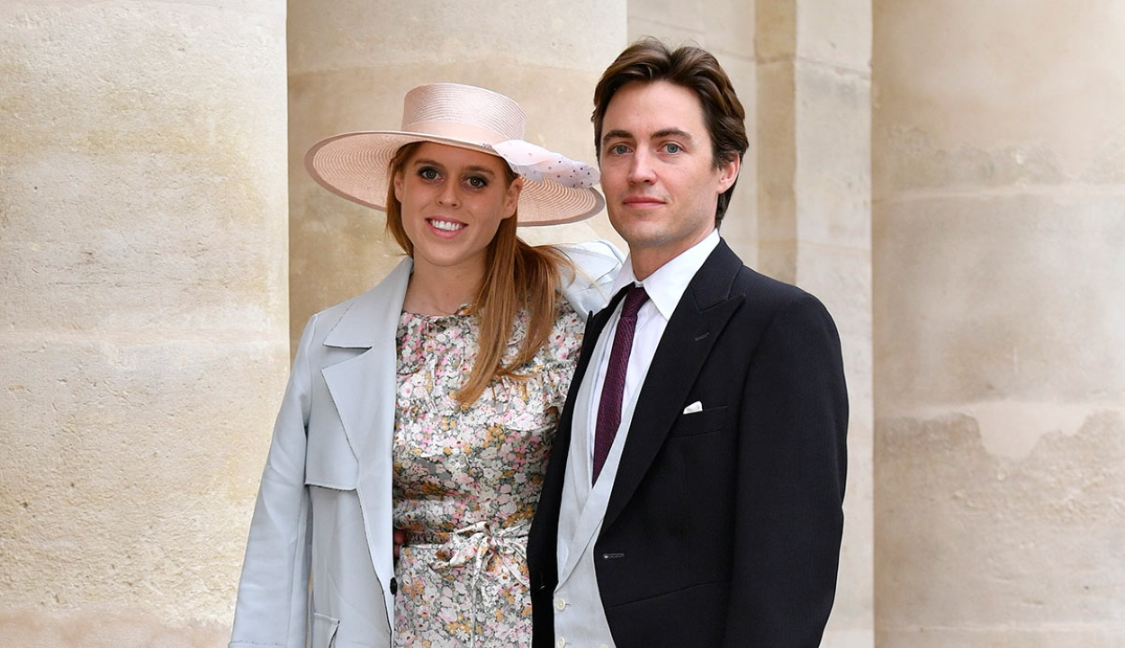 Titokban férjhez ment Beatrix hercegnő, a brit uralkodó unokája