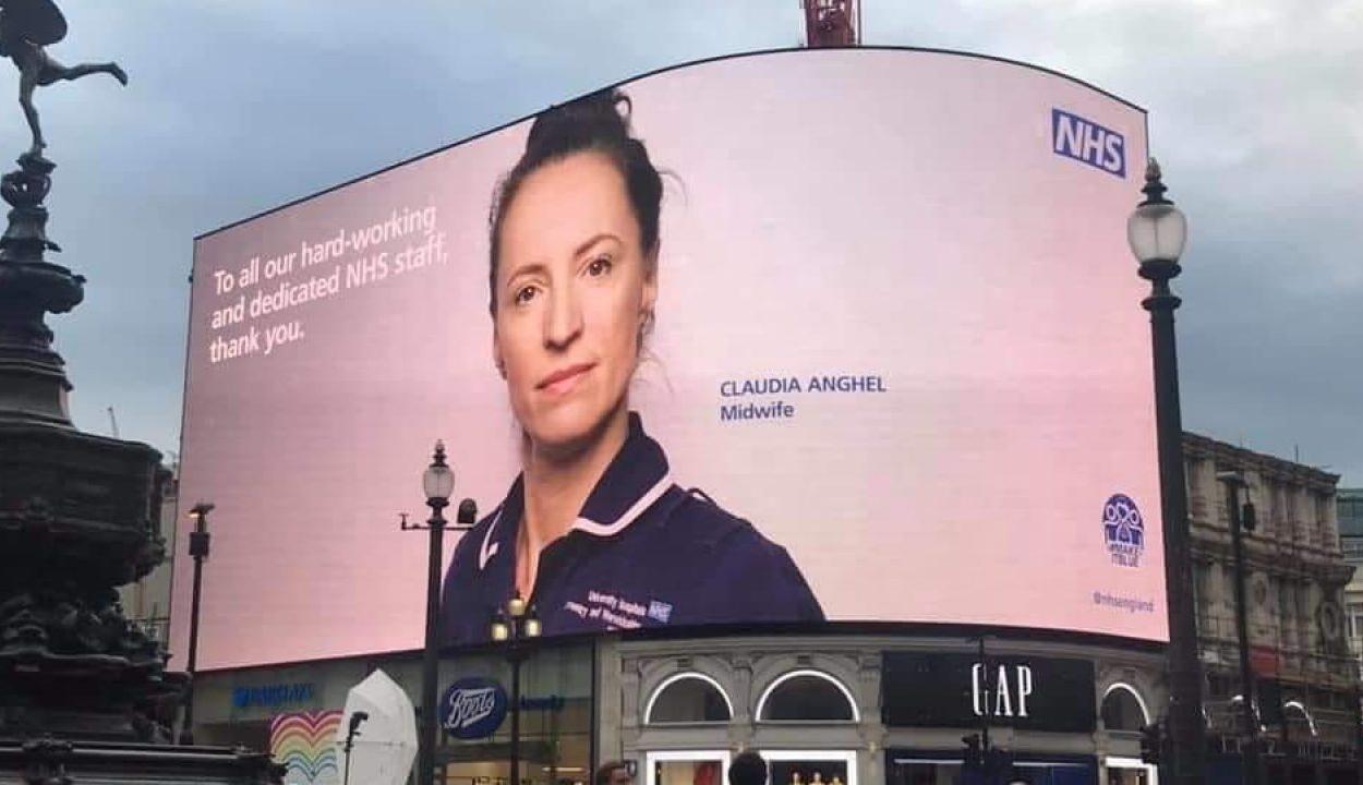 Egy Romániából kivándorolt szülésznő a brit egészségügy egyik hőse