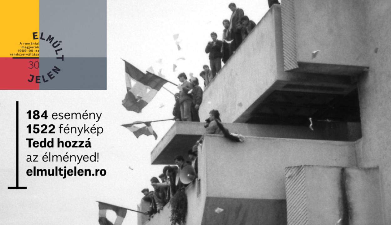 A rendszerváltást a romániai magyarok szemszögéből bemutató internetes oldal indult