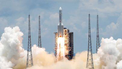 Kína útnak indította Mars-szondáját