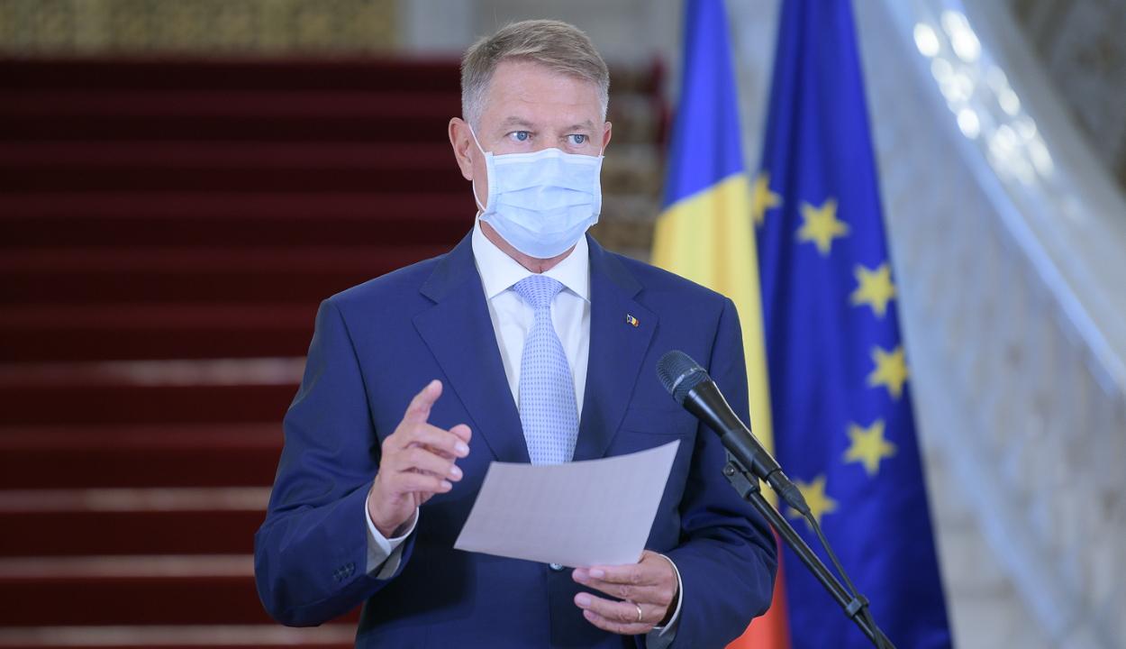 Iohannis közvetve az RMDSZ-t is vádolta az egészségügyi válság kiprovokálásával