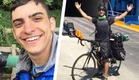 48 napig biciklizett egy görög egyetemista, hogy hazajusson
