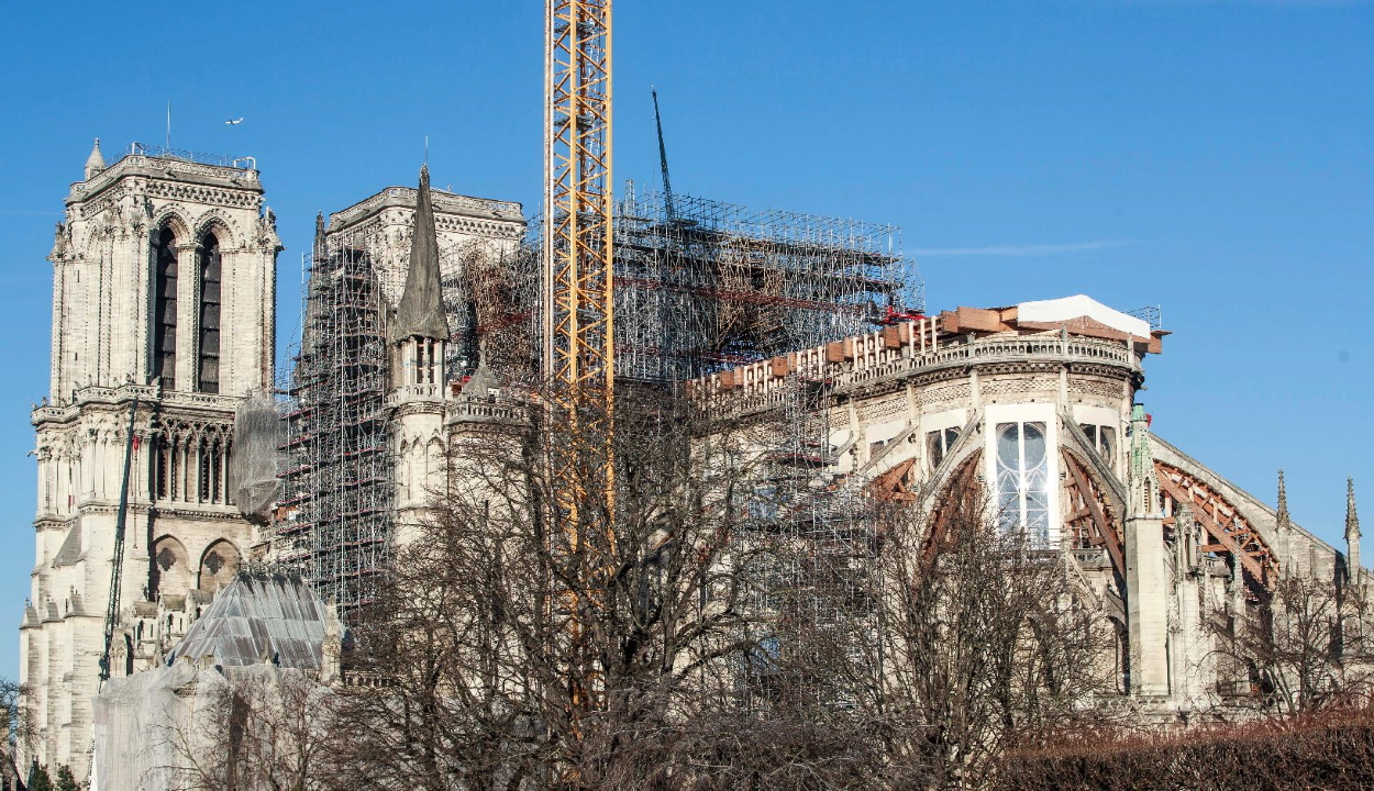 Eredeti formában állítják helyre a Notre-Dame katedrálist