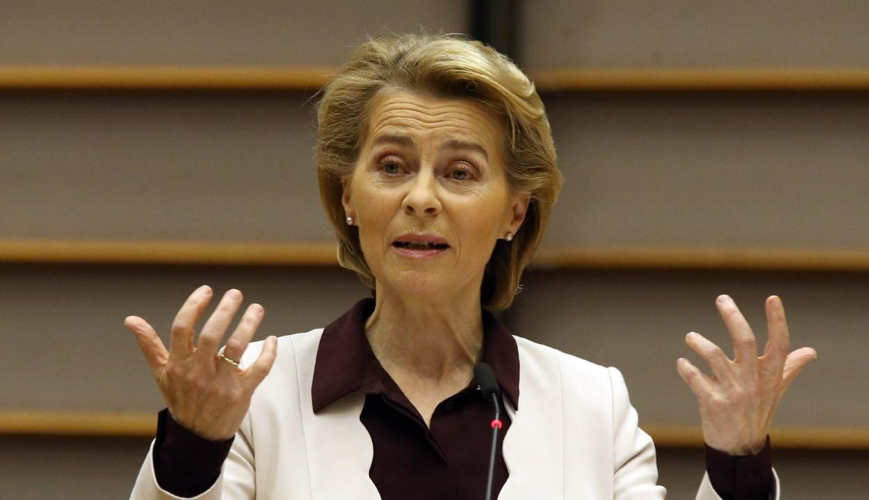Ursula von der Leyen kiállt az LMBTI közösség jogai mellett