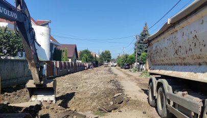 Készül a Molnár Józsiás utca