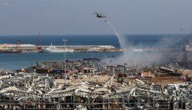 Kéthetes szükségállapotot hirdettek ki Bejrútban
