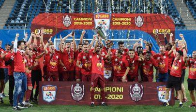 Hatodszor román bajnok a kolozsvári CFR
